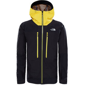 The North Face M's Summit L5 Pro Gore GTX Jacket Black Canary Yellow